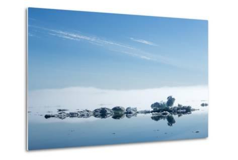Melting Sea Ice, Hudson Bay, Nunavut Territory, Canada-Paul Souders-Metal Print