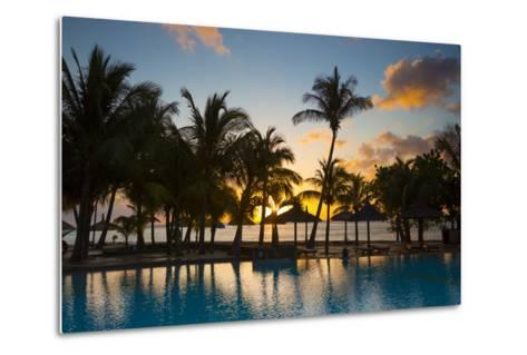 Beachcomber Dinarobin Hotel, Le Morne Brabant Peninsula, Black River, West Coast, Mauritius-Jon Arnold-Metal Print