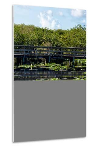 Crocodile - Everglades National Park - Unesco World Heritage Site - Florida - USA-Philippe Hugonnard-Metal Print