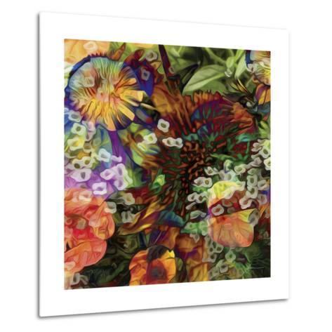 Embellished Eden Tile I-James Burghardt-Metal Print