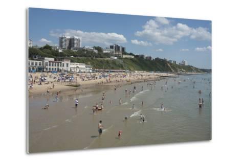 The Beach at Bournemouth, Dorset, England, United Kingdom, Europe-Ethel Davies-Metal Print