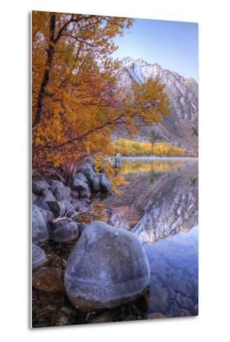 Autumn Landscape at June Lake-Vincent James-Metal Print