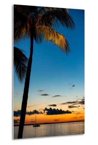 Sunset Landscape - Miami - Florida-Philippe Hugonnard-Metal Print