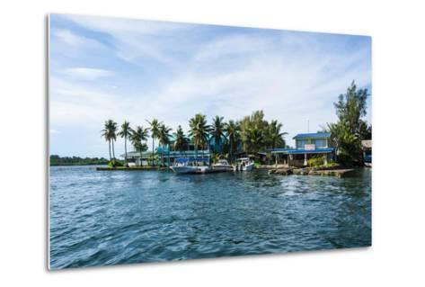 The Harbour of Koror, Palau, Central Pacific, Pacific-Michael Runkel-Metal Print