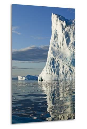 Icebergs in Disko Bay--Metal Print