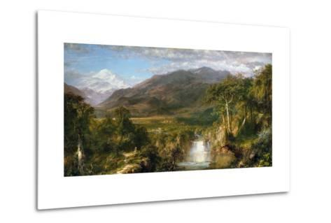 Heart of the Andes-Frederic Edwin Church-Metal Print