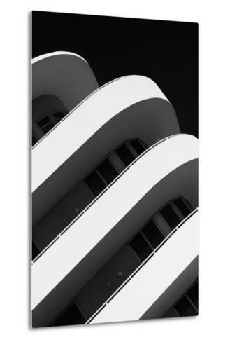 Art Deco Architecture of Miami Beach - South Beach - Florida-Philippe Hugonnard-Metal Print