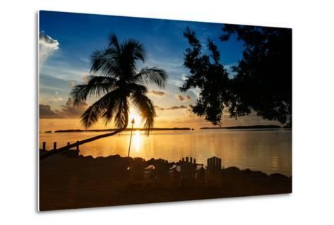 Four Chairs at Sunset - Florida-Philippe Hugonnard-Metal Print