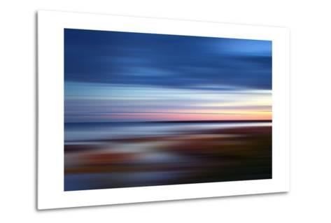 Blue on the Horizon-Andrew Michaels-Metal Print