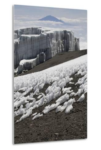 Glacier and Ice Patches--Metal Print