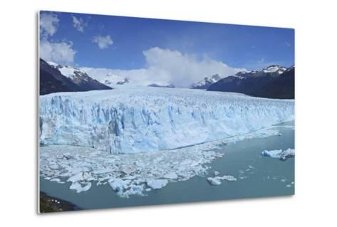 Perito Moreno Glacier, Panoramic View, Argentina, South America, January 2010-Mark Taylor-Metal Print