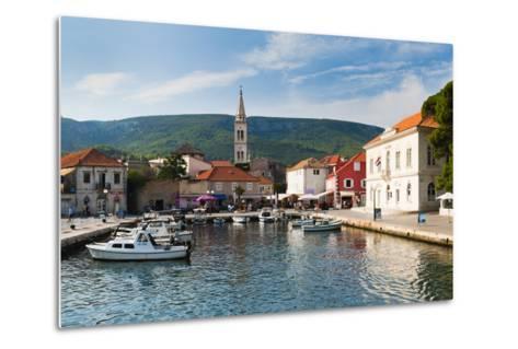 Jelsa Harbour, Hvar Island, Dalmatian Coast, Adriatic, Croatia, Europe-Matthew Williams-Ellis-Metal Print