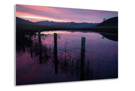 Pre Dawn in the Petaluma Hills, Sonoma County-Vincent James-Metal Print
