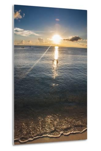 Sunset in Guam, Us Territory, Central Pacific, Pacific-Michael Runkel-Metal Print