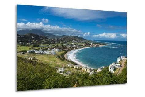 View over North Frigate Bay on St. Kitts-Michael Runkel-Metal Print
