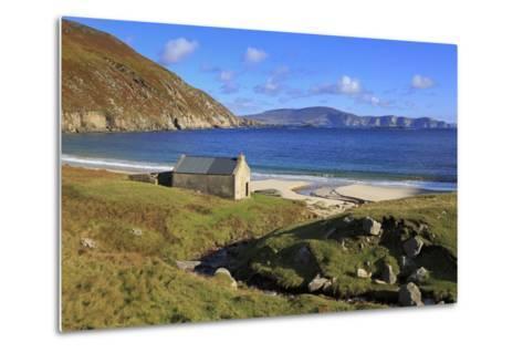 Keem Beach on Achill Island, County Mayo, Connaught (Connacht), Republic of Ireland, Europe-Richard Cummins-Metal Print