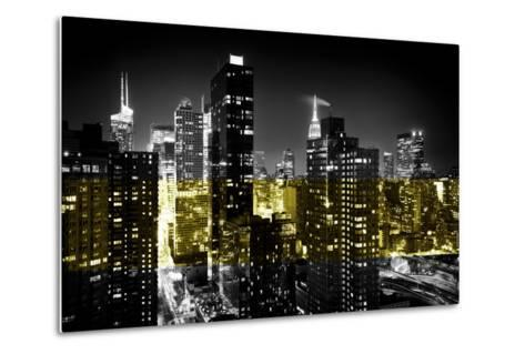 Manhattan Night-Philippe Hugonnard-Metal Print
