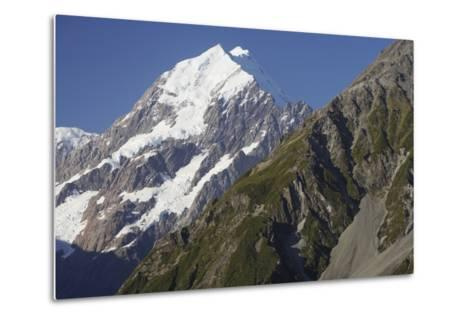 Mount Cook and Southern Alps--Metal Print