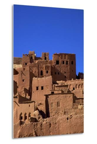 Ait-Benhaddou Kasbah, UNESCO World Heritage Site, Morocco, North Africa, Africa-Neil Farrin-Metal Print