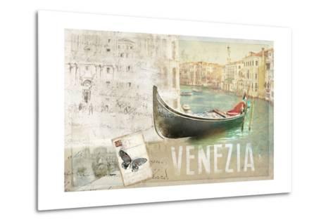 Venezia Butterfly-Andrew Michaels-Metal Print