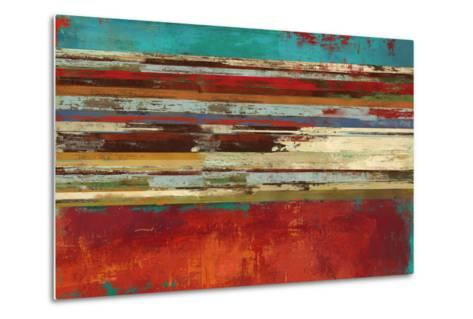 Worn Red-Sloane Addison ?-Metal Print
