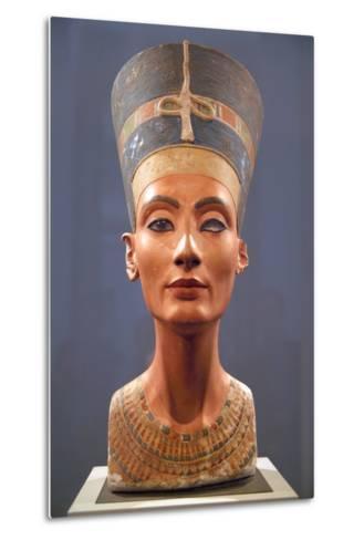 Bust of Nefertiti--Metal Print