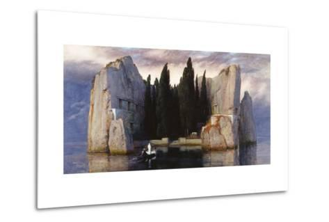 The Isle of the Dead-Arnold Bocklin-Metal Print