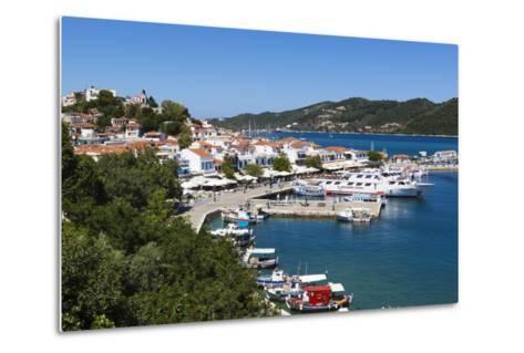 Harbour, Skiathos Town, Skiathos Island, Sporades Islands, Greek Islands, Greece, Europe-Stuart Black-Metal Print