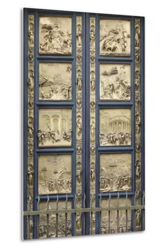 The Gates of Paradise-Lorenzo Ghiberti-Metal Print