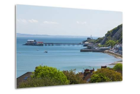 Mumbles Lighthouse, Mumbles Pier, Mumbles, Gower, Swansea, Wales, United Kingdom, Europe-Billy Stock-Metal Print