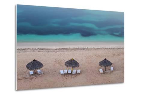 Ancon Beach, Trinidad, Sancti Spiritus Province, Cuba, West Indies, Caribbean, Central America-Jane Sweeney-Metal Print