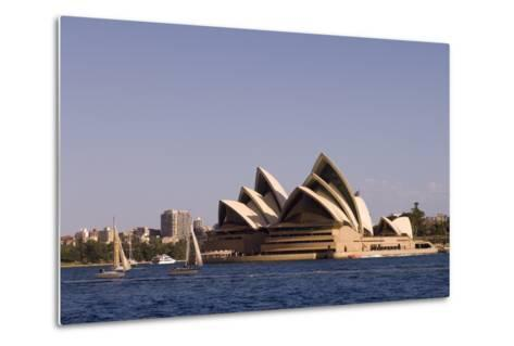 A View of the Sydney Opera House from across the Harbor-Sergio Pitamitz-Metal Print