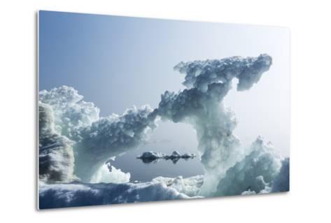Sea Ice, Nunavut Territory, Canada-Paul Souders-Metal Print
