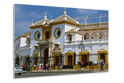Plaza De Toros, Seville, Andalusia, Spain, Europe-Guy Thouvenin-Metal Print