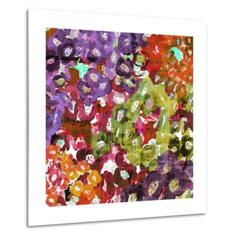 Floral Barrage I-James Burghardt-Metal Print