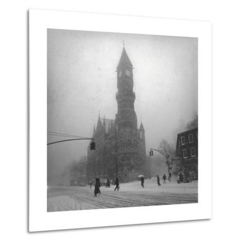 Greenwich Village, New York City-Henri Silberman-Metal Print