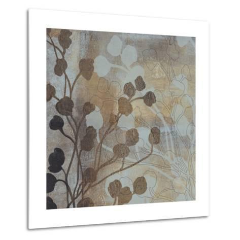 Spa Blue and Gold I-Tim O'toole-Metal Print