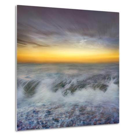 Golden Horizons-Adrian Campfield-Metal Print