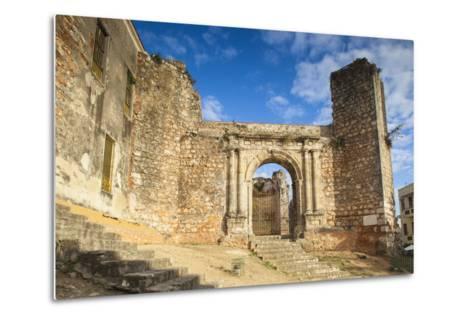 Monasterio De San Francisco, Colonial Zonesanto Domingo, Dominican Republic, West Indies, Caribbean-Jane Sweeney-Metal Print