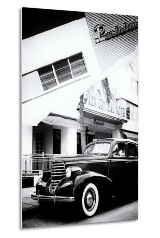 Dual Torn Posters Series - Miami-Philippe Hugonnard-Metal Print