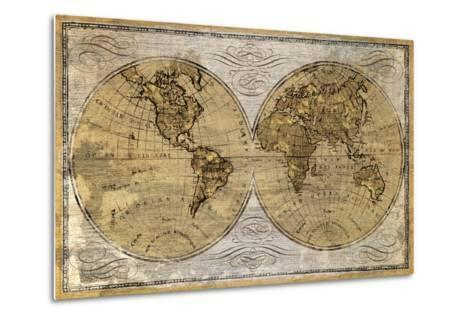 Worldwide I-James Wioens-Metal Print