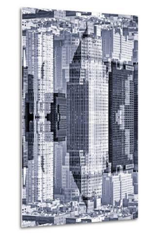 New York City Reflections Series-Philippe Hugonnard-Metal Print