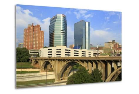 Downtown Skyline, Knoxville, Tennessee, United States of America, North America-Richard Cummins-Metal Print