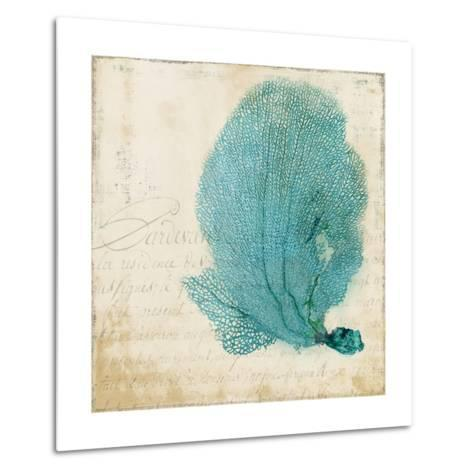 Blue Coral II-Anna Polanski-Metal Print