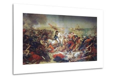 Battle of Aboukir, July 25, 1799-Antoine-Jean Gros-Metal Print