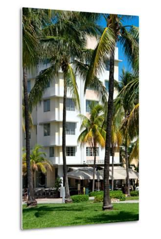 Art Deco Architecture of Ocean Drive - Miami Beach - Florida-Philippe Hugonnard-Metal Print