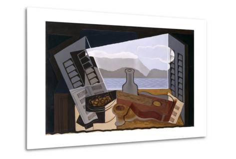 La Fenetre Ouverte (The Open Window)-Juan Gris-Metal Print