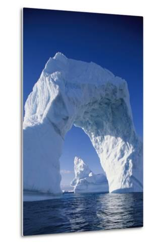 Arch Iceberg Near Lemaire Channel in Antarctica--Metal Print