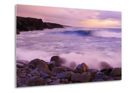 The Burren Coastline Near Doolin, County Clare, Munster, Republic of Ireland, Europe-Richard Cummins-Metal Print