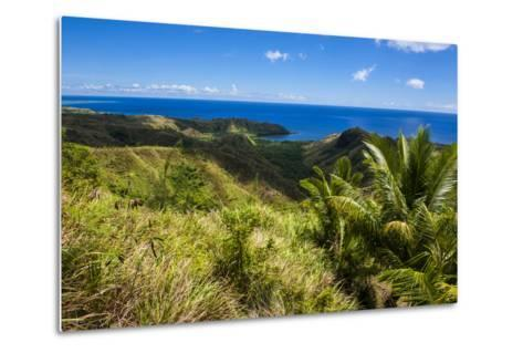 Outlook over Cetti River Valley in Guam, Us Territory, Central Pacific, Pacific-Michael Runkel-Metal Print
